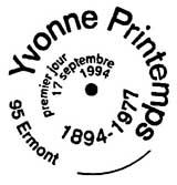 Oblitération 1er jour à Ermont le 17 septembre 1994