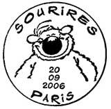 Oblitération 1er jour à Paris le 20 septembre 2006