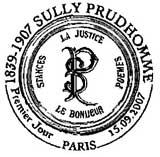 Oblitération 1er jour à Paris le 15 septembre 2007