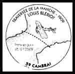 Oblitération 1 jour  à Blériot-Plage, cambrais, Paris et La Baule-Escoublac le samedi 25 et dimanche 26 juillet 2009