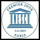 Oblitération 1er jour à Paris le 7 novembre 2015