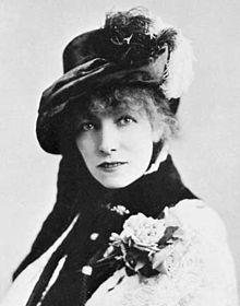 Sarah Bernhardt (1844-1923)  actrice française
